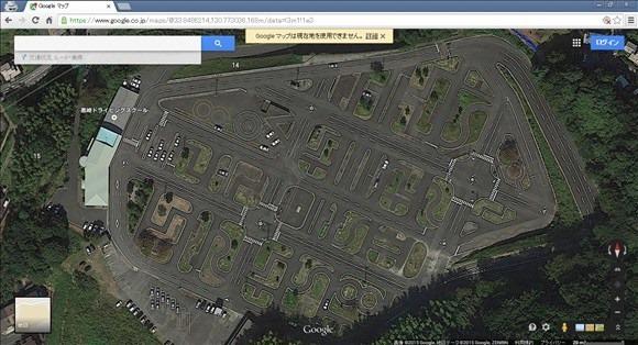 Googleマップで教習所を表示