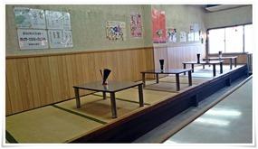 テーブル席@がんこもんラーメン