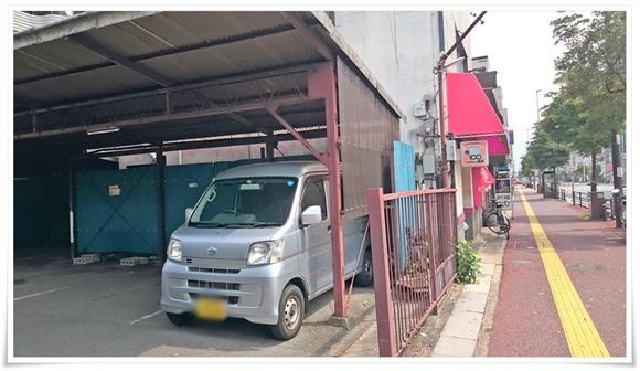 駐車場完備@久留米ラーメン 宝龍