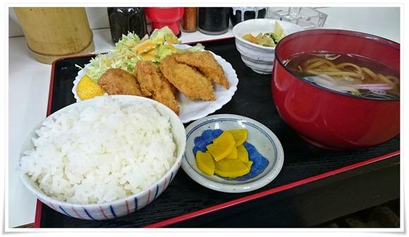 元気屋定食(チキンカツ)@麺処 元気屋
