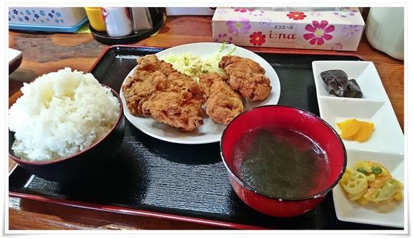 BIGからあげ定食@ちゅんちゅん食堂