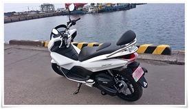 My HONDA PCX125 左サイド
