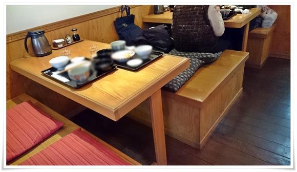 テーブル席@ごはん処中村家