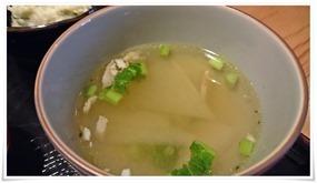 かぶとベーコンのスープ@ごはん処中村家