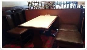 テーブル席@軽食&喫茶らんぶる