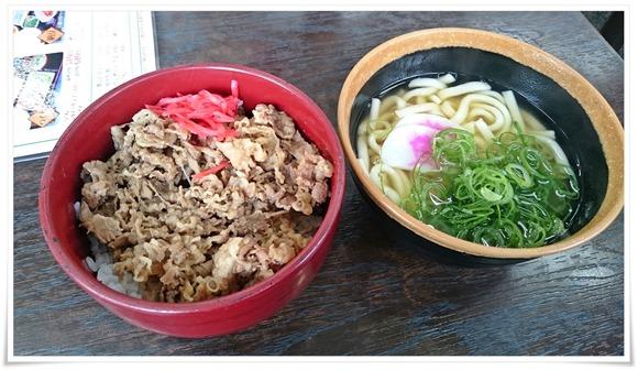 牛丼+ミニうどんアップ@資さんうどん