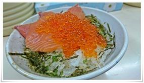 サーモン&イクラ丼@こずえ食堂