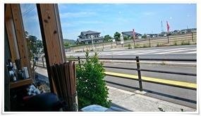 窓から拝める田園風景@ラーメン・カフェ・ダイニング 温