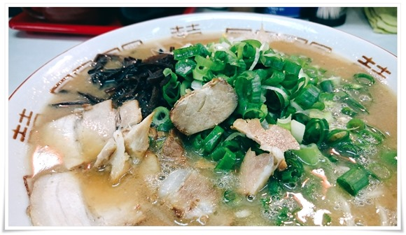 チャーシュー麺@がんこもんラーメン