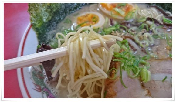 細麺を選択@ラーメン壱番亭