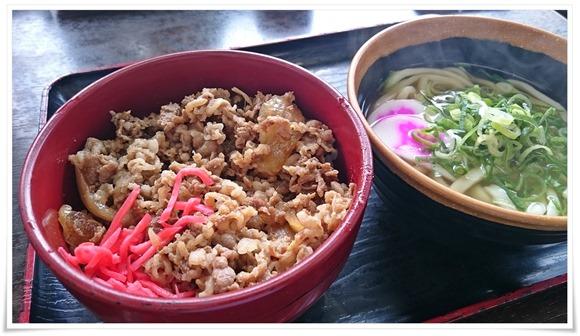 牛丼+ミニうどん@資さんうどん